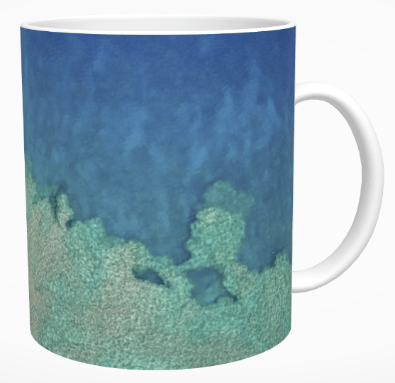 Aerial Reef Mug