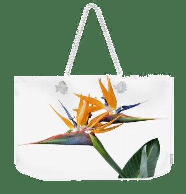 Weekender Tote Bag 3 Heads White
