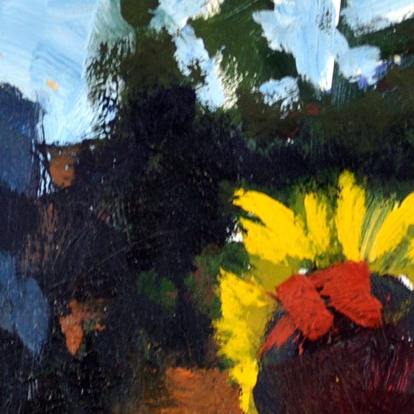 Hallgren MiniSunflowers 6x6 Detail1