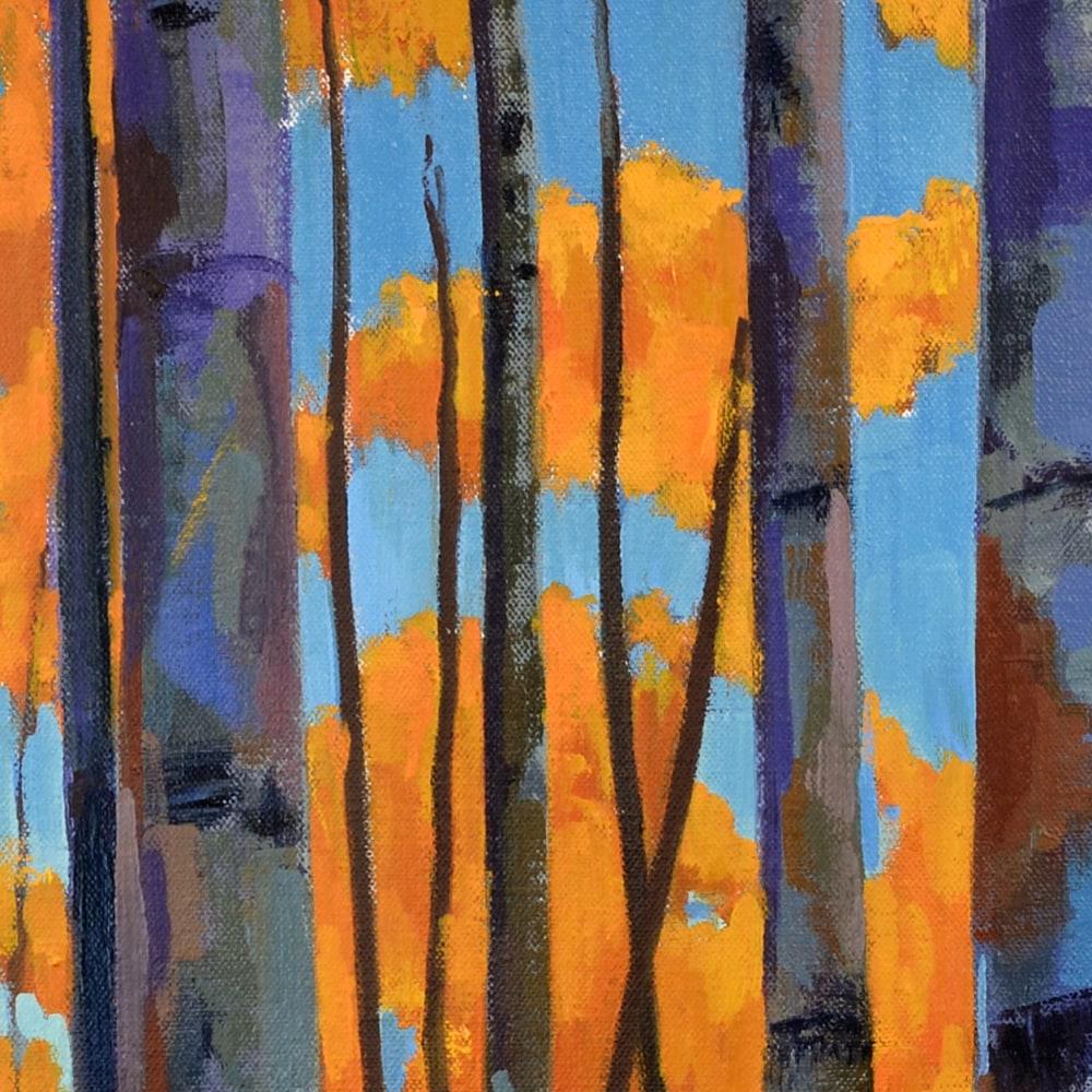 Hallgren BirchSunset20x20 detail2