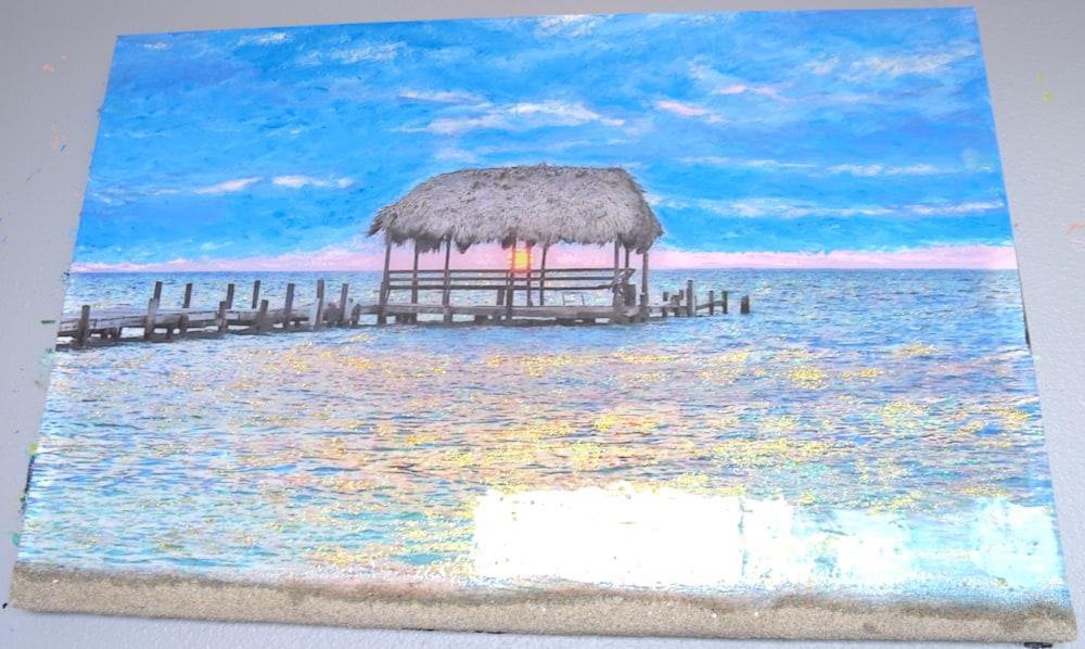 Peekaboo Cabana Sunrise 1