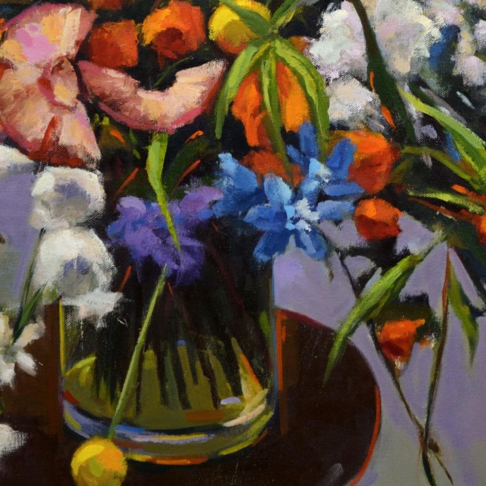 Hallgren BouquetXVII 30x30 detail1