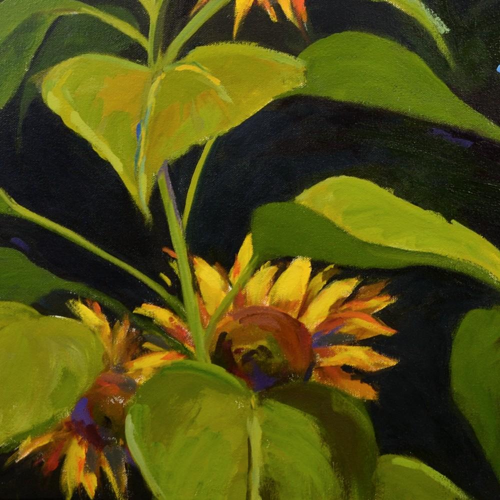 Hallgren LargeSunflowers detail2