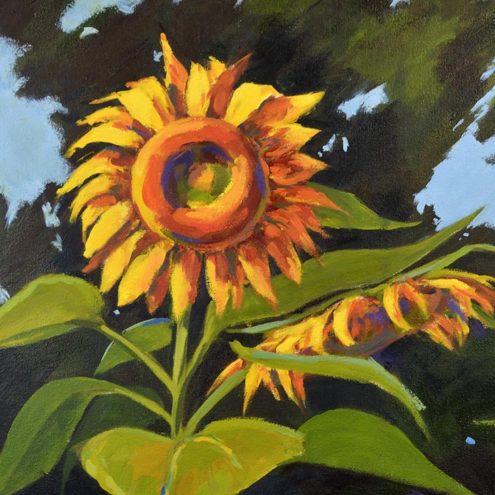 Hallgren LargeSunflowers detail1tif