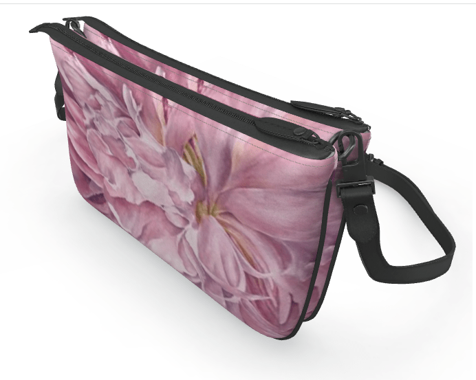 Pink Peony double clutch