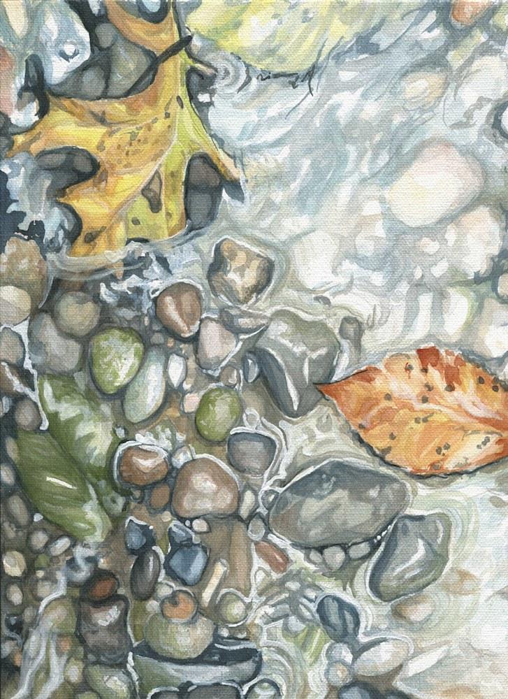 A Watercolor Nolde Up Close