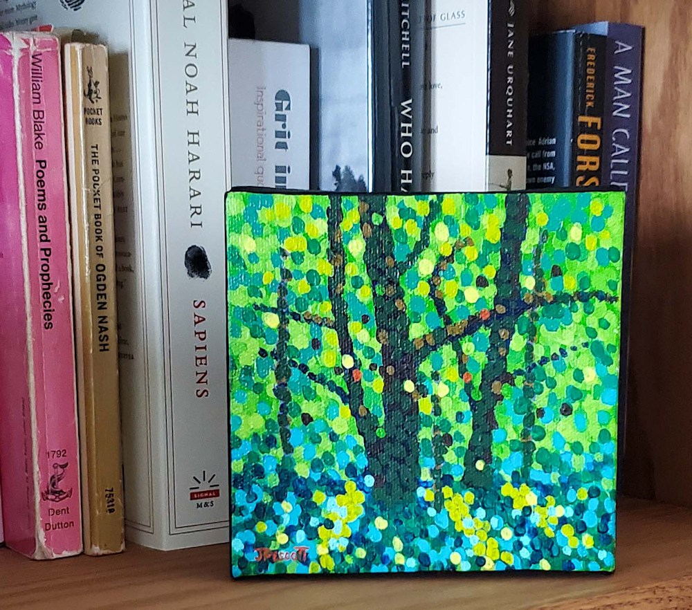 Woodland Shadows Bookshelf