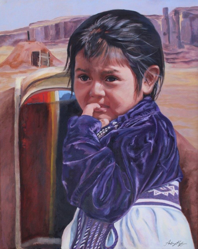 Monument Valley's Child 20H x 16W jpeg