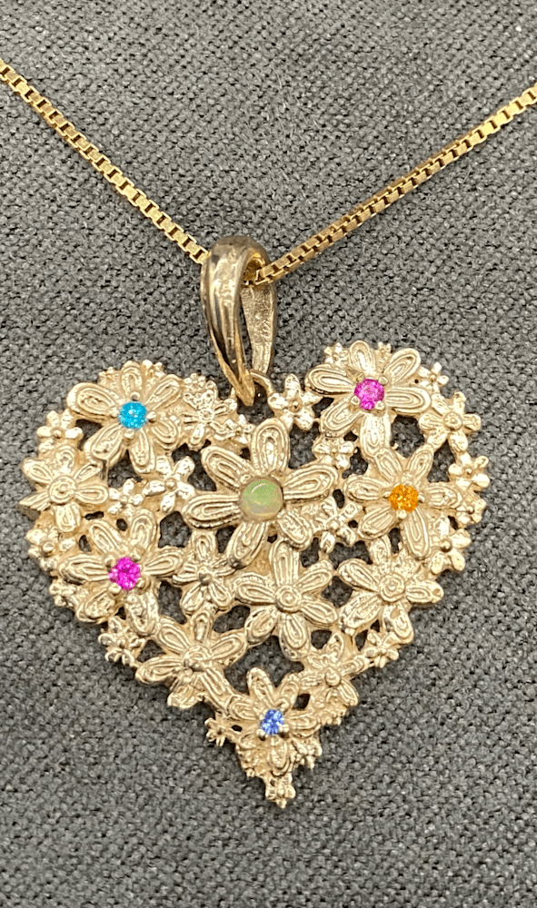 Cuore with chain