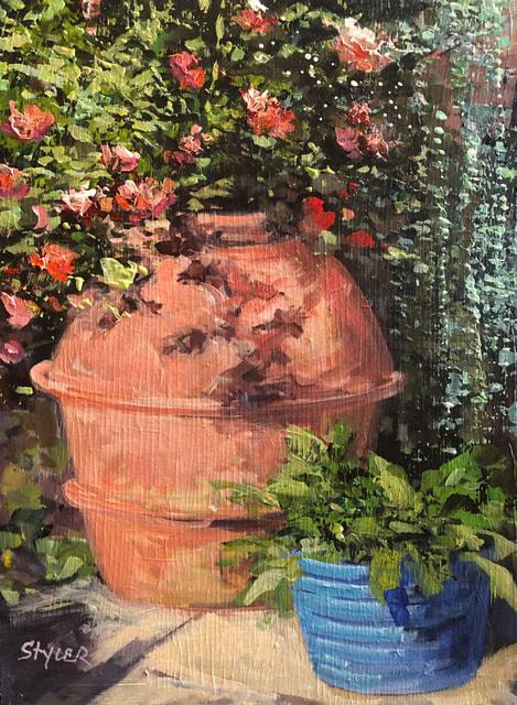 Flower Pot II 12x16