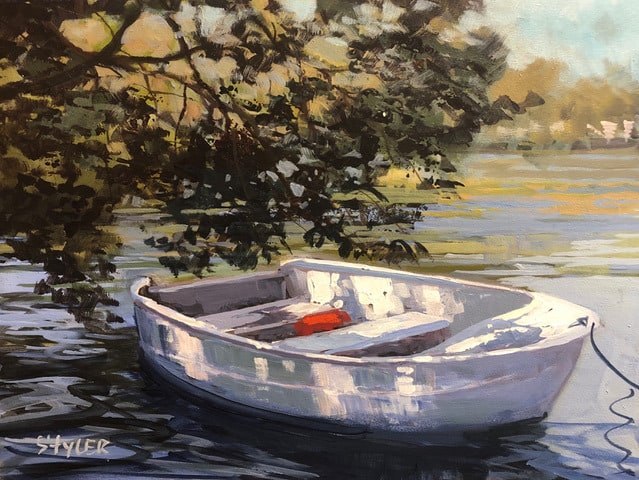 The Rowboat 12x16
