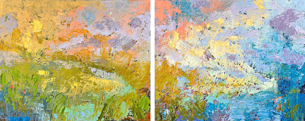 Sing Me a Song  Let Twilight Be diptych 2400