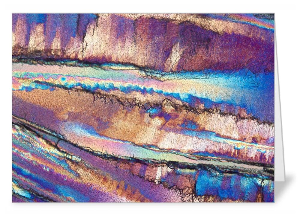 Exposed Cliff   urea   Note Card