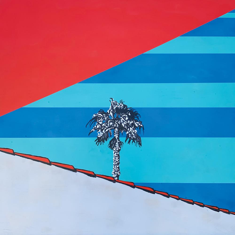 O2015 Palm Tree Noir
