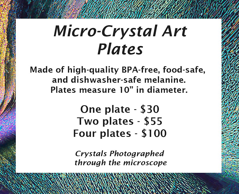 Micro Crystal Art Plate Prices only for website on Plume