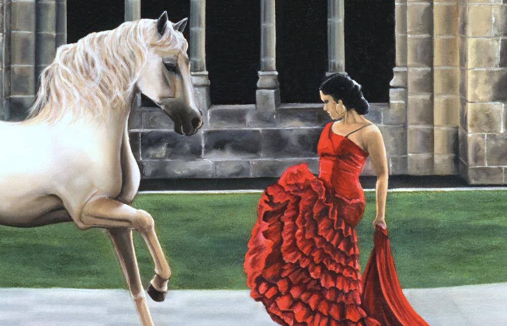 Equestrian Cloisters DETAIL1