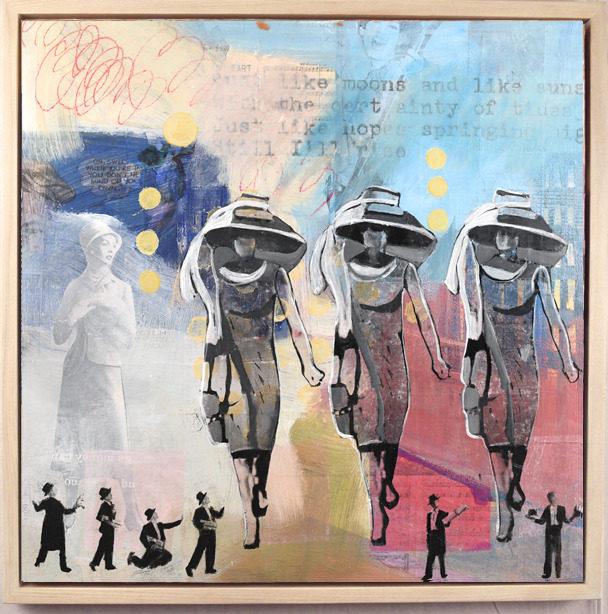My Dream Lady framed  36x36