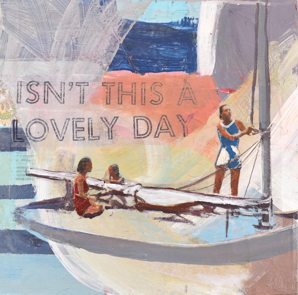 Lovely Day, 12x12 web