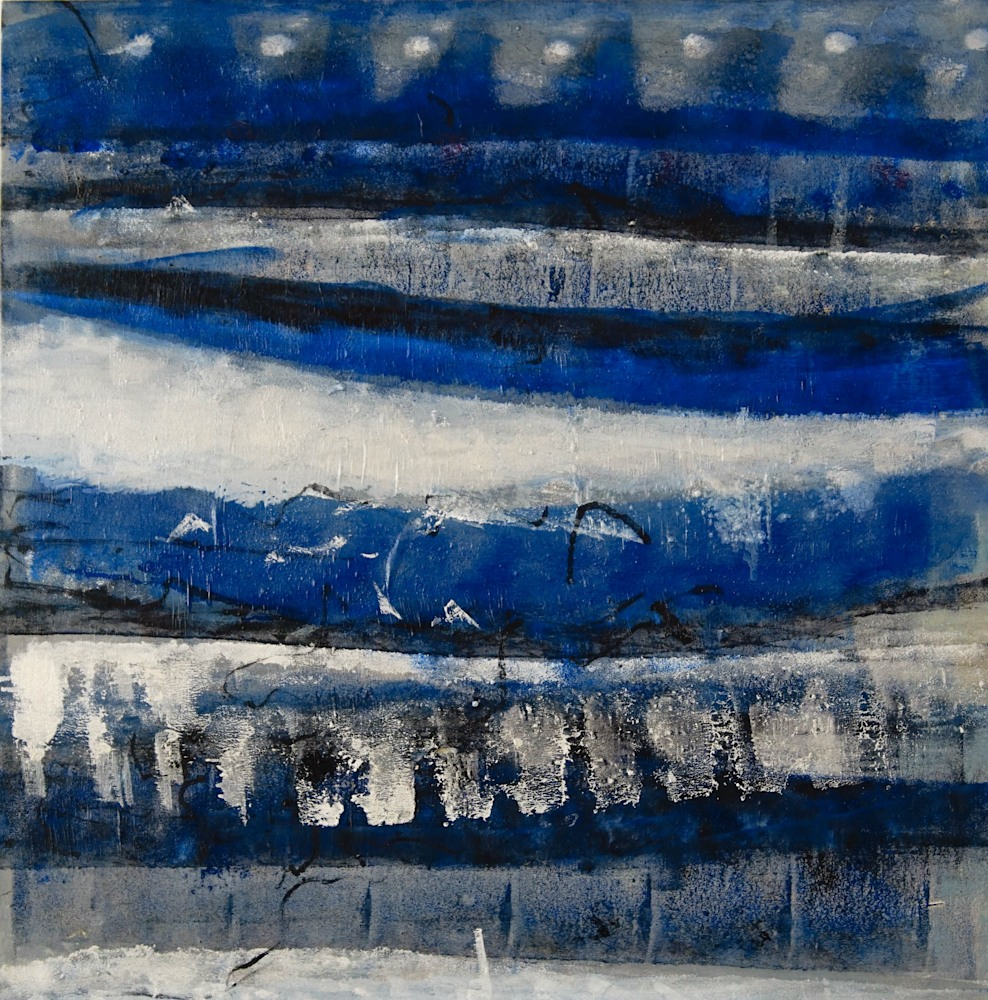 BLUE TIDES 1/5  31x31 inches $1500