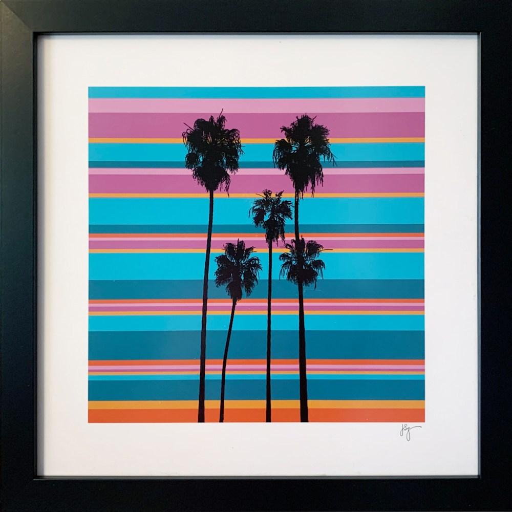 #O2101P 5 Palm Tree