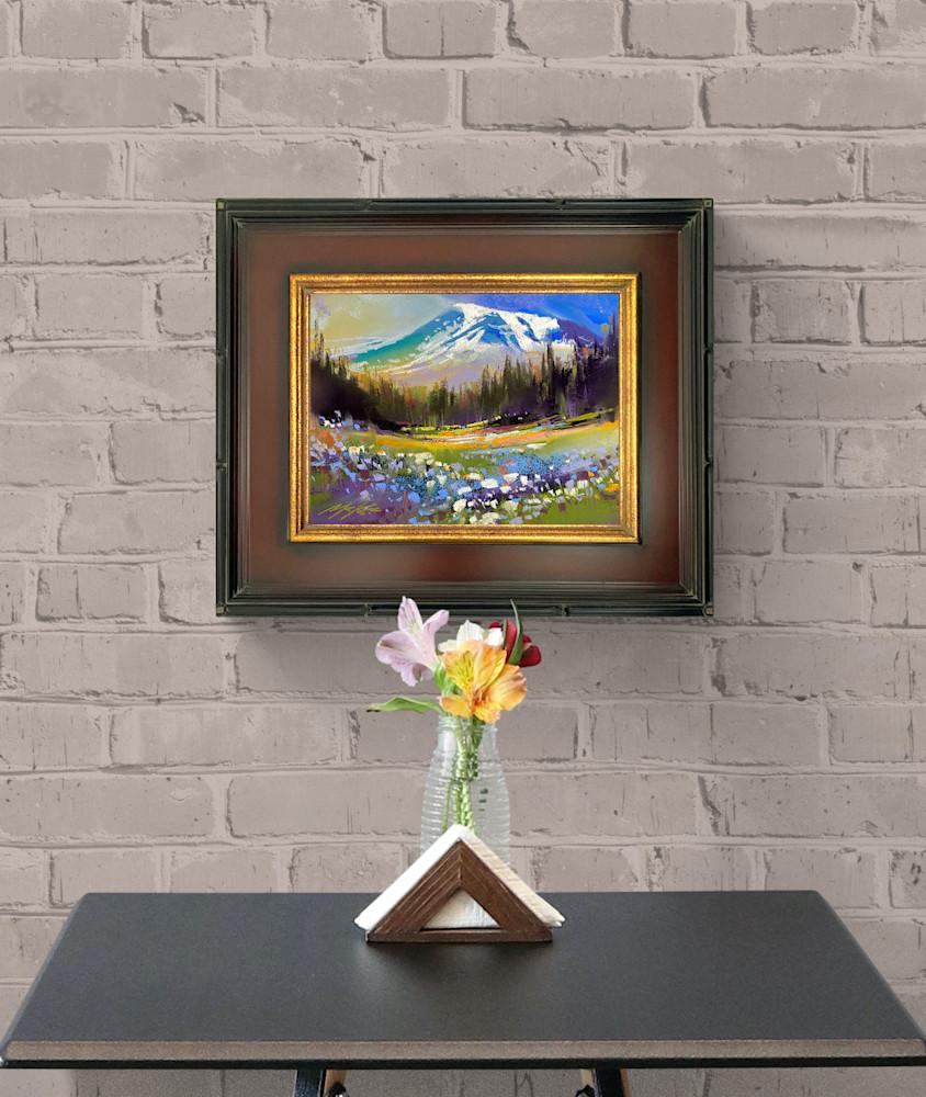 Mount Raineer Golden romance #1