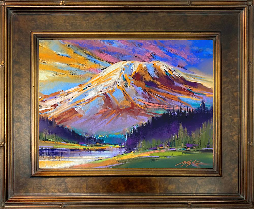 Electric Rainier framed