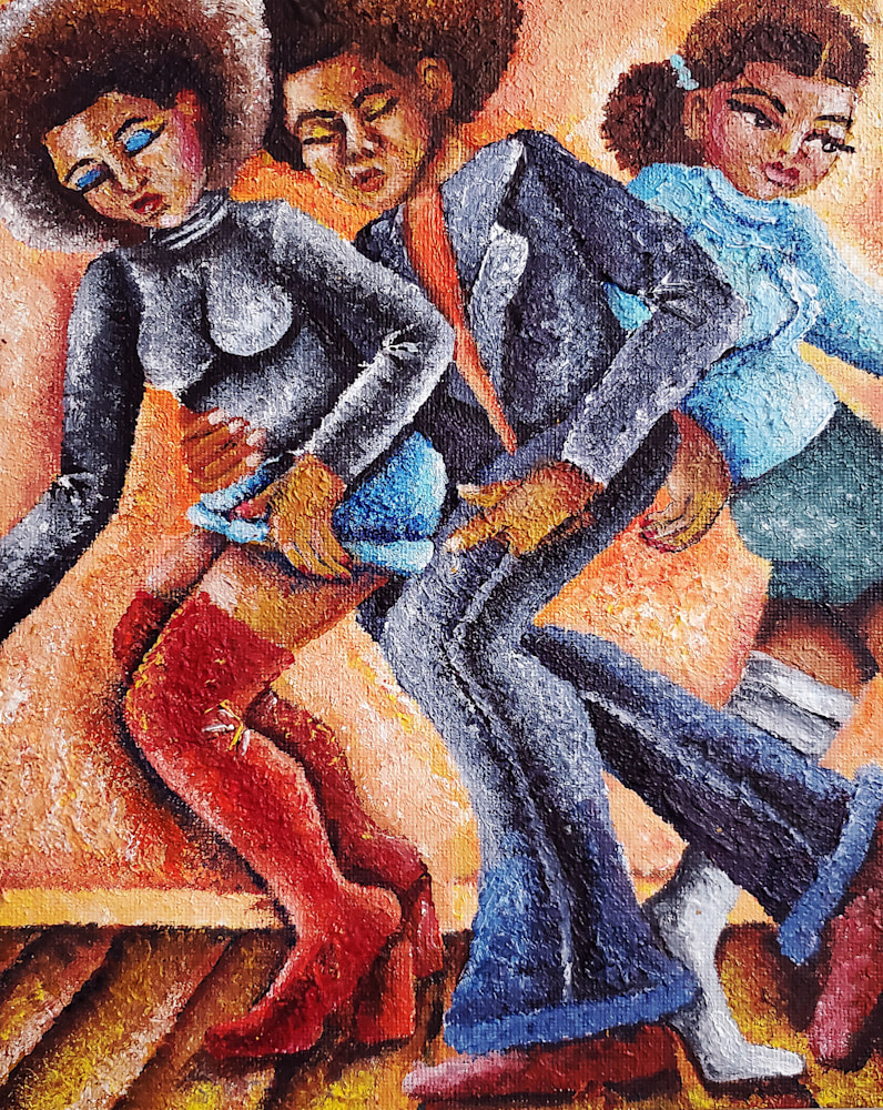 Tosh Fomby   Dance Floor Art