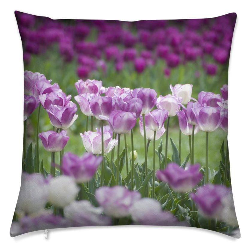 Shades of Spring Pillow