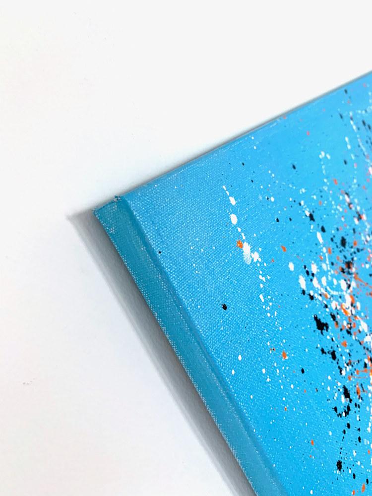 24x36 zabe arts acrylic painting blue laughter corner1
