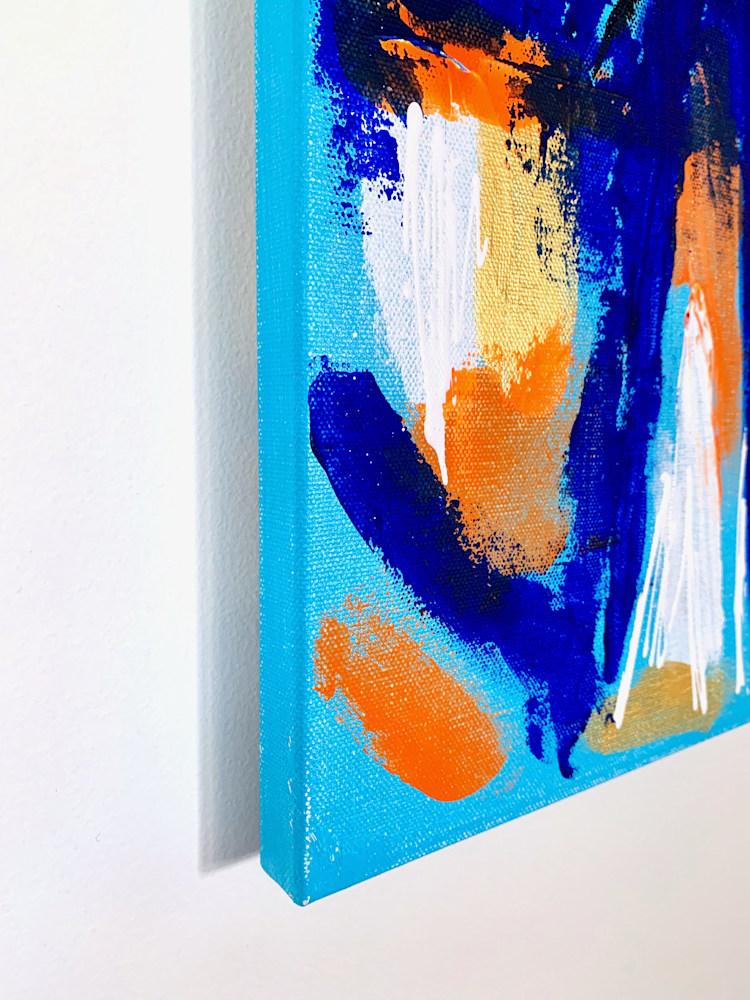 24x36 zabe arts acrylic painting blue laughter corner2