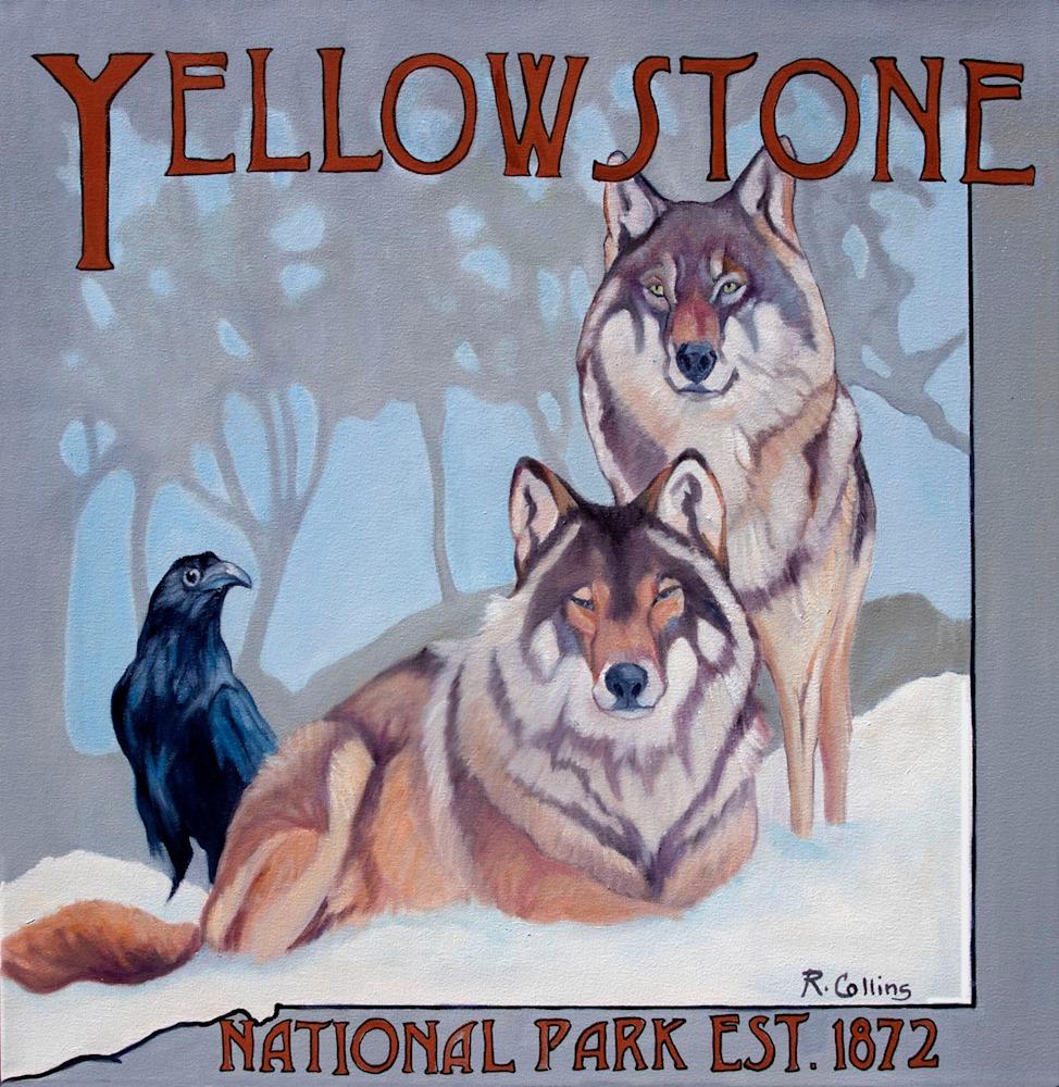 Yellowstone Gray Wolves  FB
