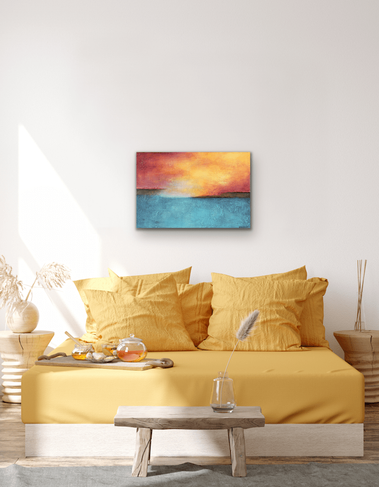 Color of Sound over yellow bed