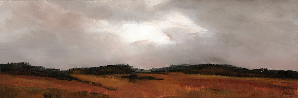 The Fall Almost No One Sees 3 oil on paper wallace