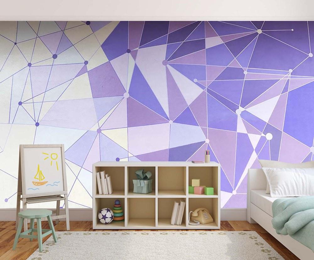 Magic Kingdom Purple Wall