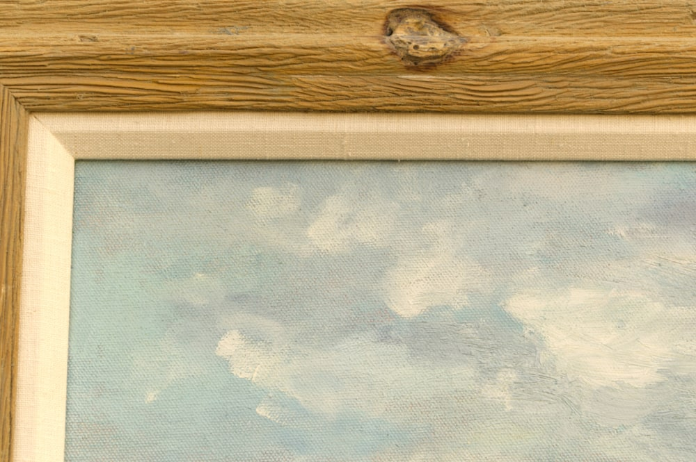 4594 detail rustic frame