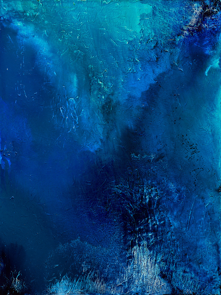 Blue Color Poem 1 MEDIUM