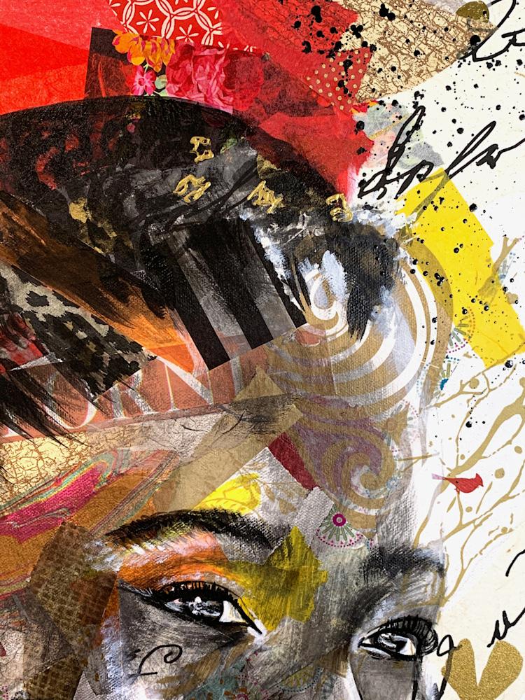 24x30 zabe arts strong women amanda gorman collage painting righ corner
