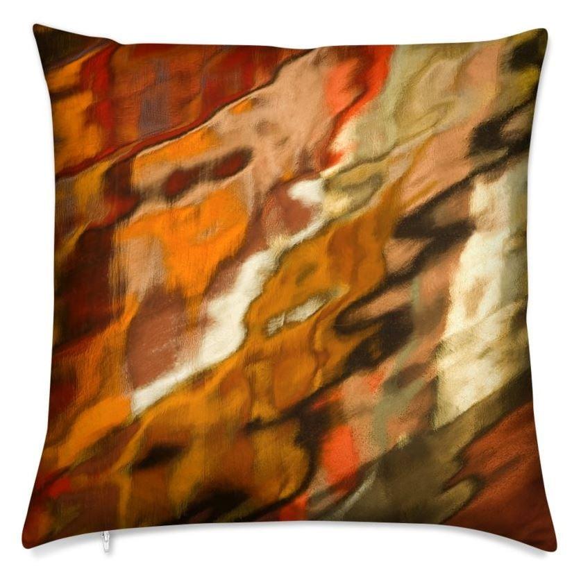 Mystique Throw Pillow (Front)