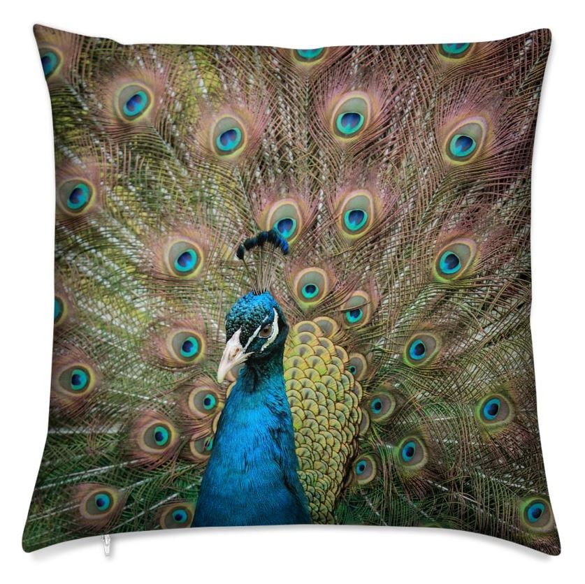 My Eyes on You Throw Pillow (Front)