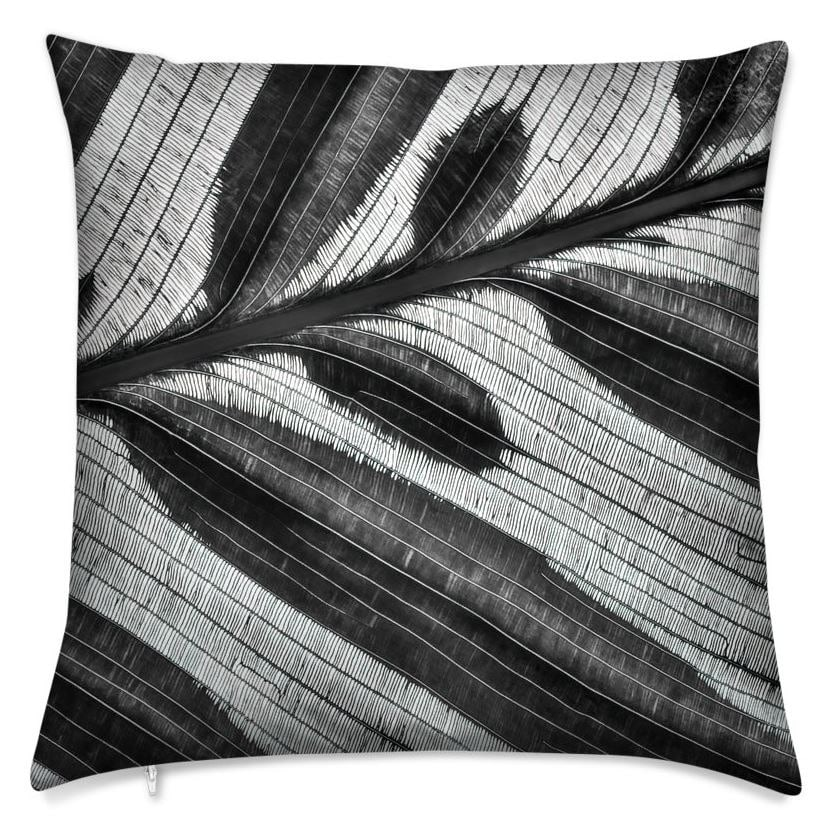 Lineation Throw Pillow (Front)