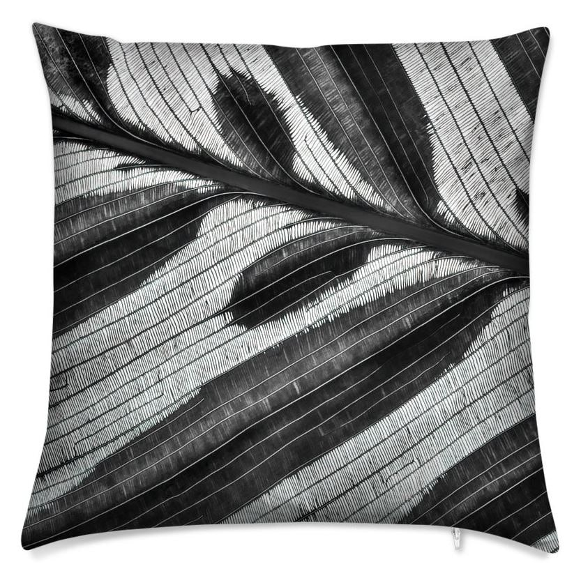 Lineation Throw Pillow (Back)
