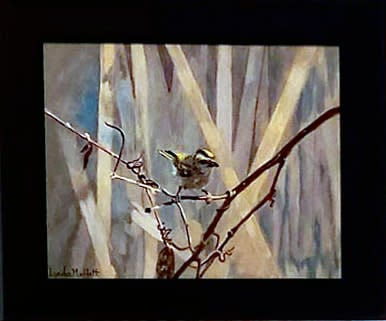 Goldencrownedkingletpaintingcropped6x5forSM