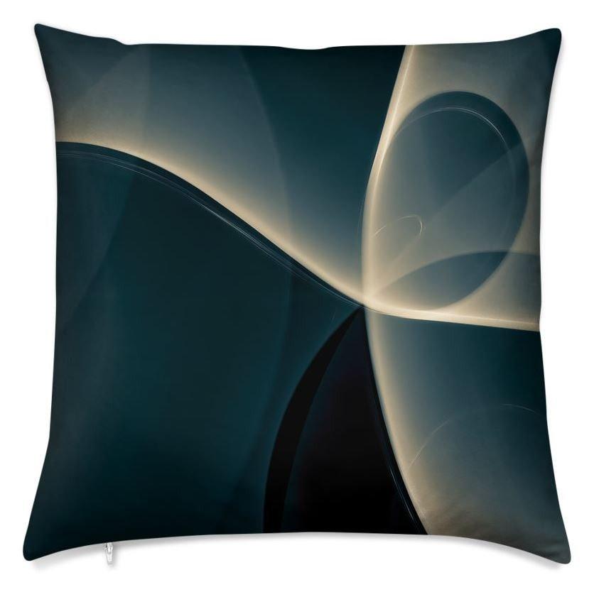 Light Dance Throw Pillow (Front)