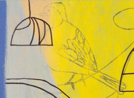 BIRD(2016) 10x10inches CaleyODwyer (detail 1) DSC0474