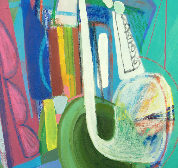 Blow (2017) 35 x 35 inches Caley ODwyer (DETAIL 2) DSC0428