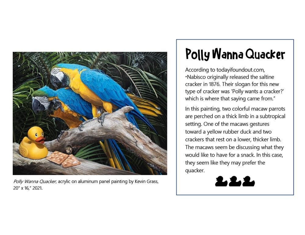 Polly Wanna Quacker
