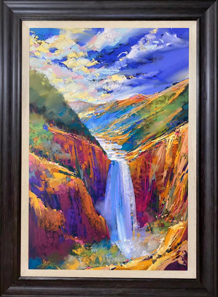 Lower Falls wood frame copy