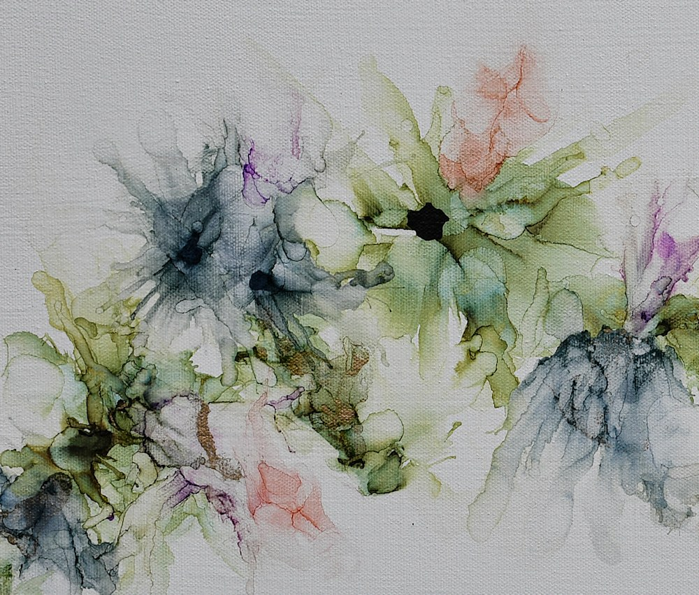 Chloris' Flowers CLOSE UP 1