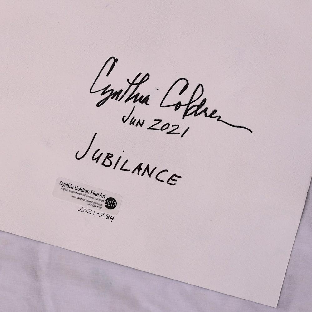 2021 284 Jubliance Dtl6