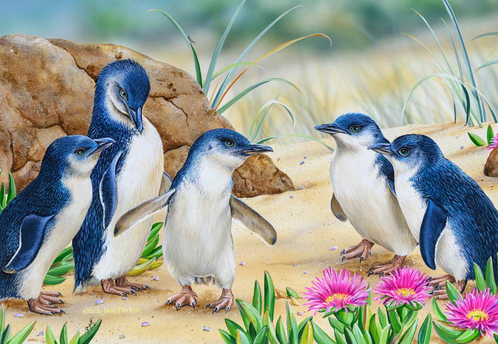Fishing Stories Little Penguins
